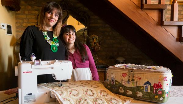 Janome Stories: Ludovica e Letizia, mamma e figlia unite dal cucito!