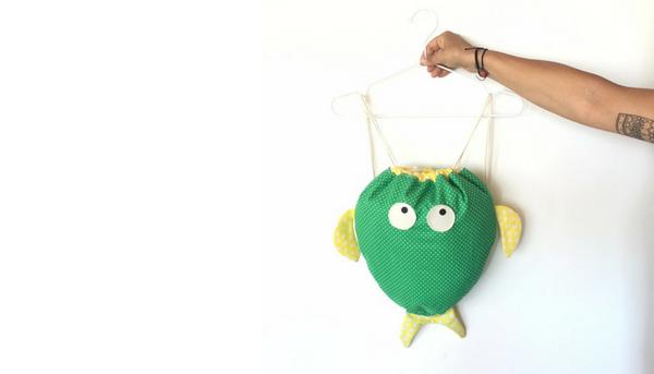 Come cucire una sacca zaino fai da te: 7 passaggi (Illustrato)