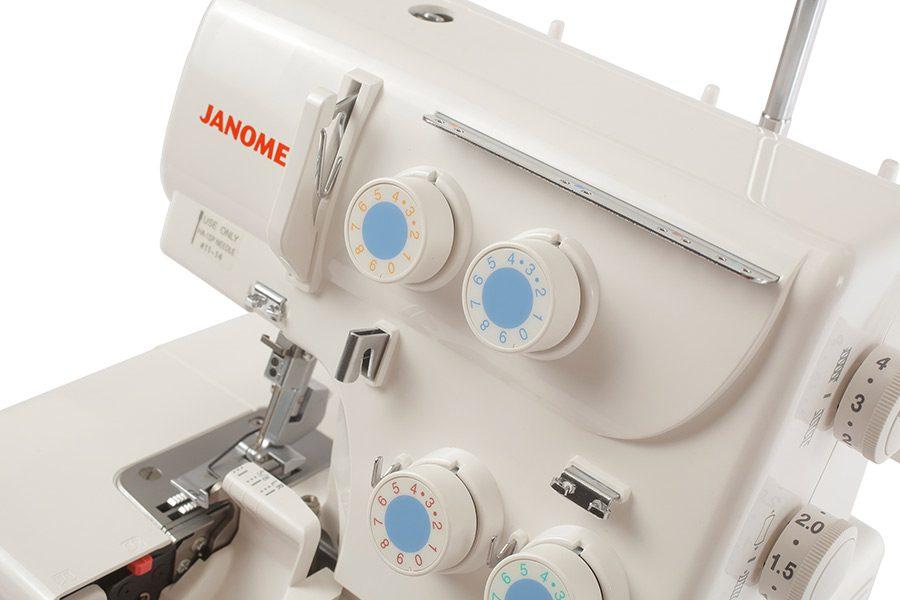 Janome 8002D Selettori Regolazione Tensione