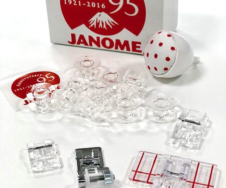 JANOME KIT 95° ANNIVERSARIO