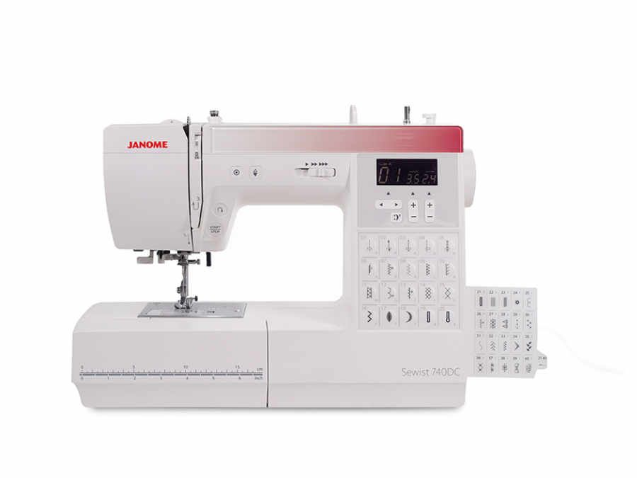 Janome Shop 740_dettaglio2