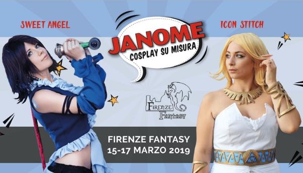 Firenze Fantasy: Arriva il Cospital Janome!