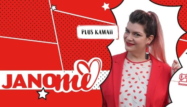 Alla scoperta delle Janomine 2019: Miria – Plus Kawaii e la sua moda stile curvy e plus size