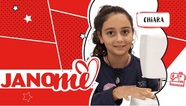 Alla Scoperta delle Janomine 2019: Chiara, la Janomina più giovane di sempre