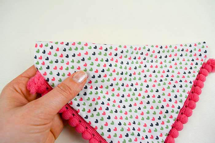 bandana per cane cucire